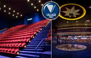 Village Cines 2X1 con Sube