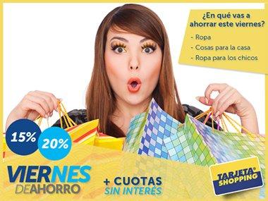 Promociones Tarjeta Shopping