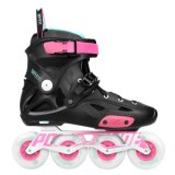 Rollers Powerslide Imperial Pure Fluor - Negro y Fucsia