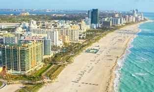 Vuelos baratos a Miami desde Foz Vacaciones de Invierno 2018